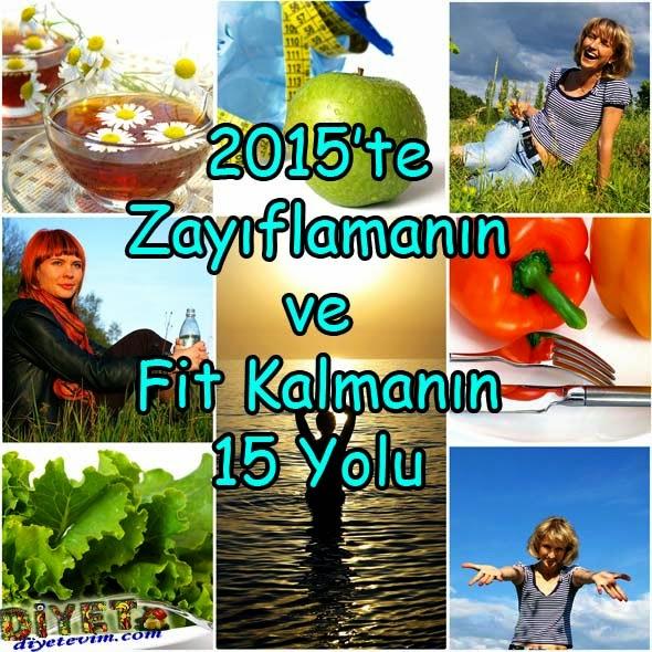 2015 sağlıklı zayıflama
