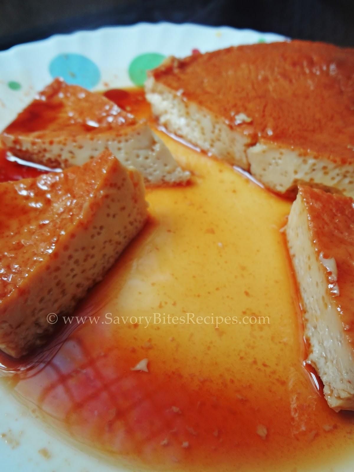 Caramel Custard | Savory Bites