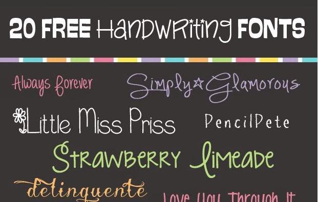 creative handwriting