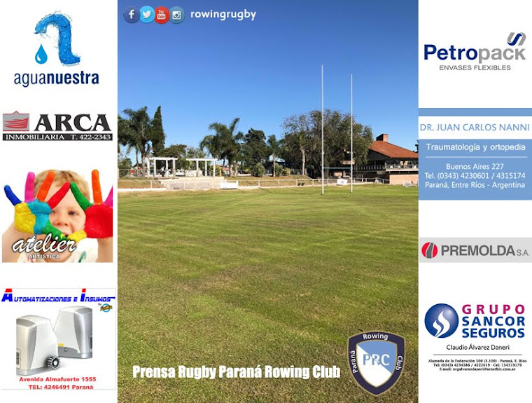 Prensa Rugby Paraná Rowing Club
