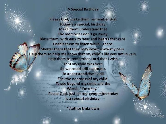 Happy Birthday Mom Heaven