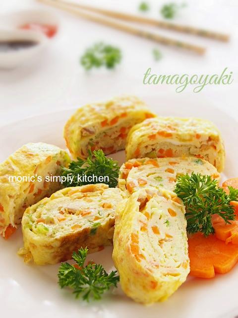 resep telur dadar gulung jepang