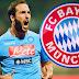 Bayern de Munique quer contratar Gonzalo Higuaín para a temporada 2016-2017.