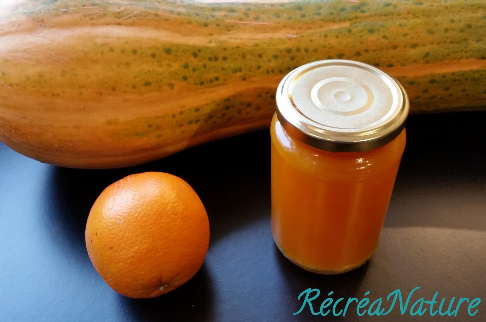 Gel e de courge de nice du jardin aux zestes d 39 orange bio - Courge de nice ...
