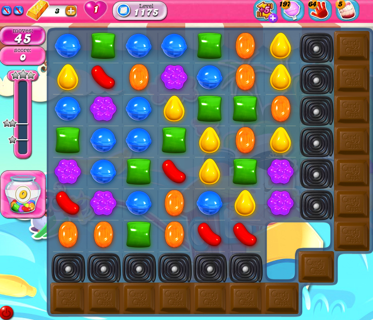Candy Crush Saga 1175