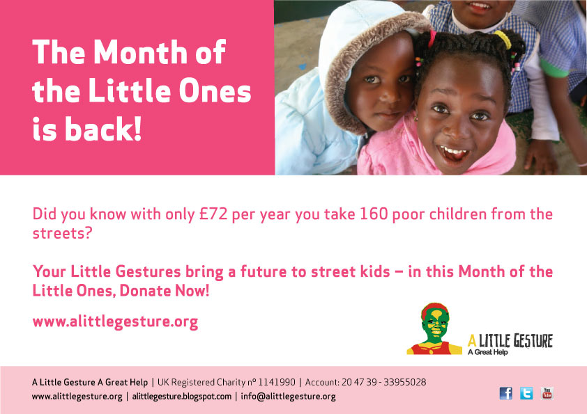 The Month of the Little Ones is back!