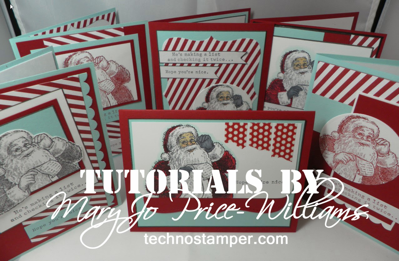 Santa's List  Card Set Tutorial