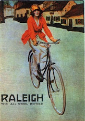Raleigh Girl in Red