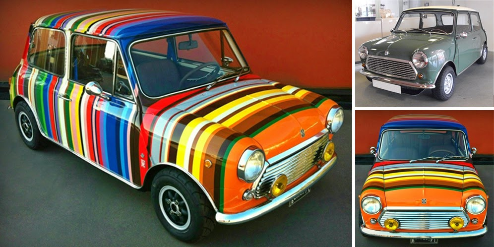 MINI Cooper 'Rainbow Cake' work DBM Garage