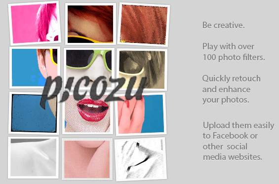 Awesome Online Photo Editor - Picozu