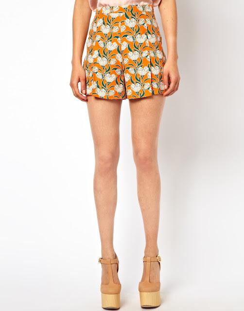 art deco shorts