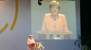 Angela Merkel Fundamentalistentreffen Schönblick