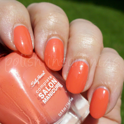 Sally Hansen Coral Fever (Tracy Reese 2011)