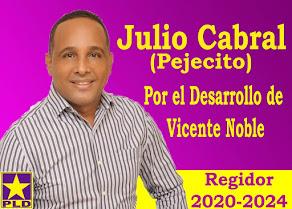 JULIO CABRAL (PEJECITO) REGIDOR 2020-2024