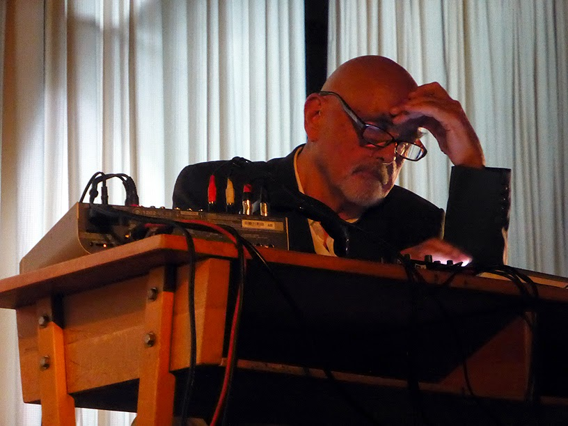 Hans Joachim Roedelius, More Ohr Less Festival 2014 / photo S. Mazars