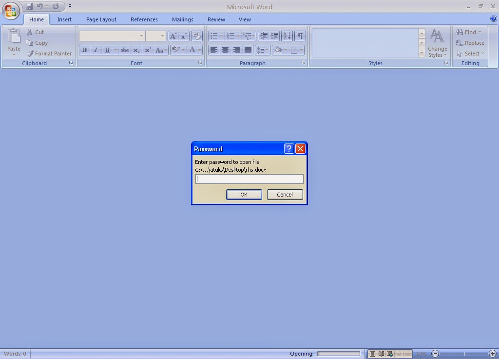 Cara Memberi Password Pada Microsoft Office Word Excel Dan Power Point