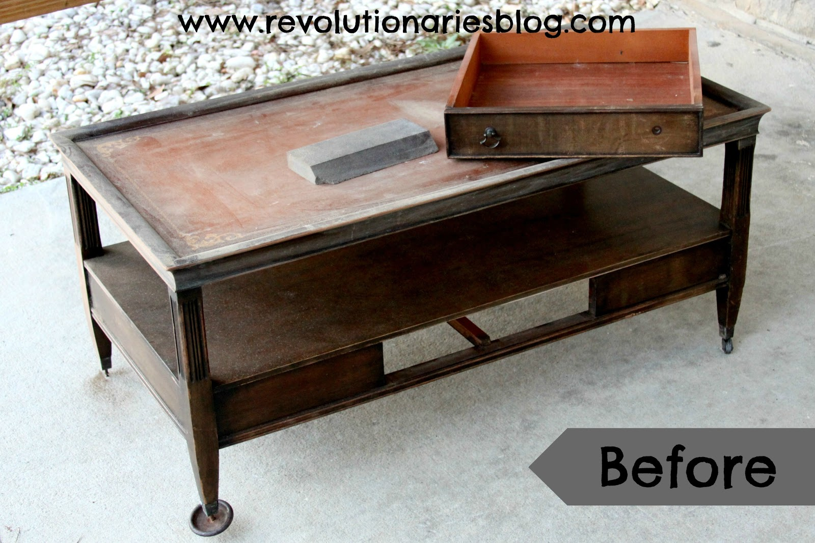Revolutionaries Shabby Chic Coffee Table