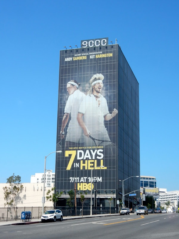 Giant 7 Days in Hell TV movie billboard