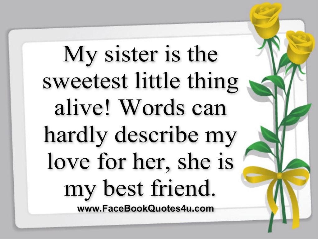I Love My Sis