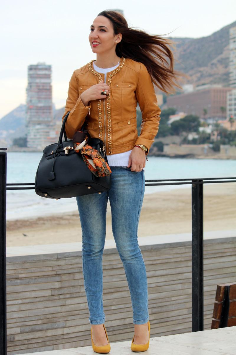 D nim mostaza estilo stiletto by leticia p rez - Personal shopper alicante ...