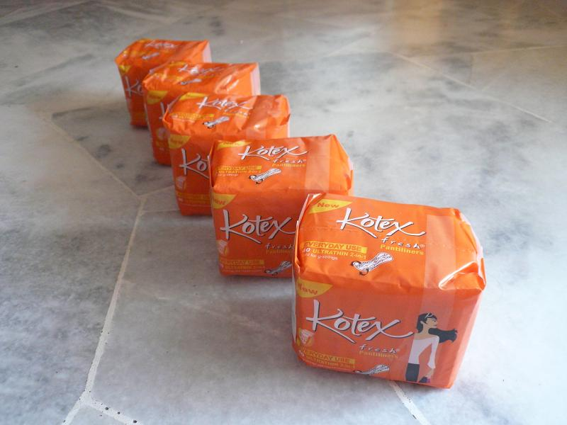 Kotex Pantiliners RM4