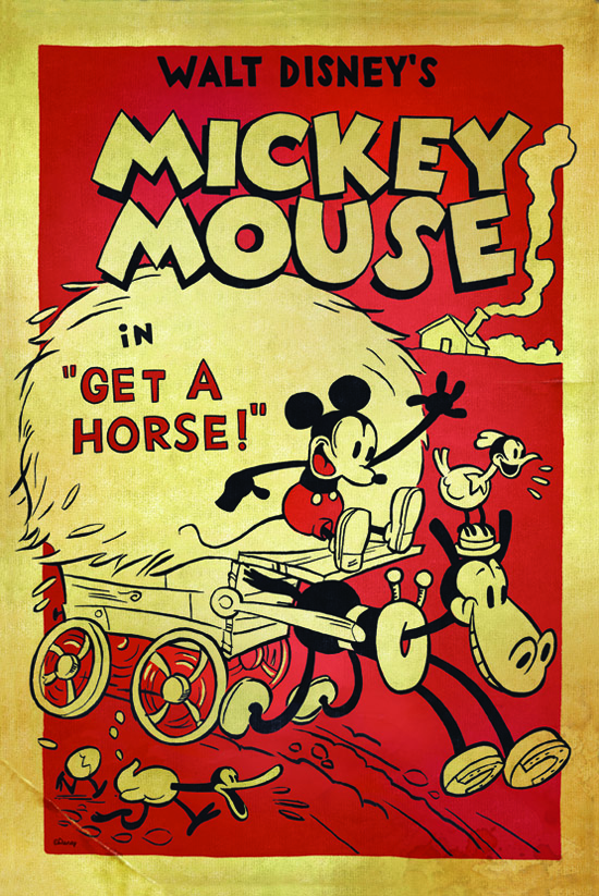 GET-A-HORSE-Poster-Mickey-Mouse-Walt-Disney-Minnie-Mouse-Horacio-Clarabella-Animation-Studios