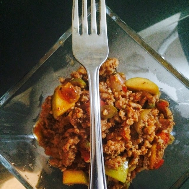 Father's Day Meal√ Apple Turkey Picadillo- | Notorious Socialite