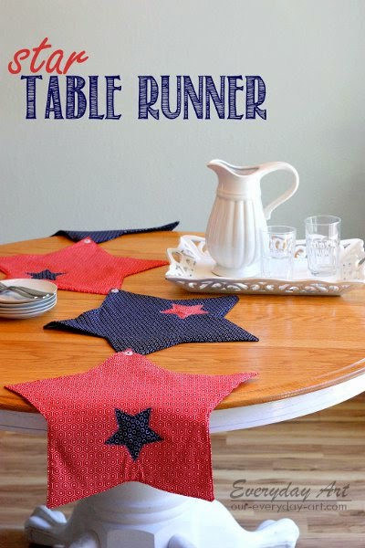 http://www.our-everyday-art.com/2014/06/star-table-runner-and-place-mats.html
