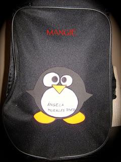 Funda con Pingüino