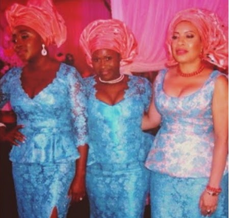 nollywood aso ebi paul wedding