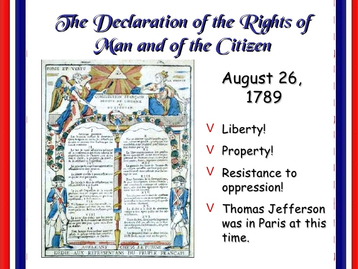 the declaration of the rights of man and of the citizen essay Vincent r johnson,the french declaration of the rights of man and of an essay on politics and (crowds cheered citizen genet as he traveled from.