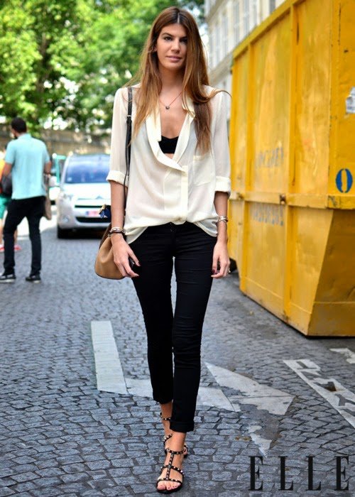 679a4399a564 Chic and Silk  GET INSPIRED  Πουκαμίσα! Δείτε πως να τη φορέσετε!