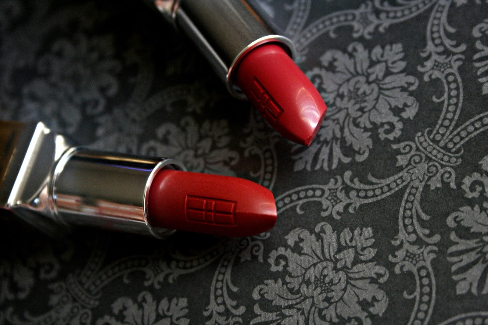 ELizabeth Arden Beautiful Color Moisturizing Lipstick in Sangria and Red To Wear
