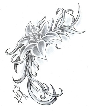 Flower Tattoo Designs on Celenk Tattoos  Flower Tattoo Design