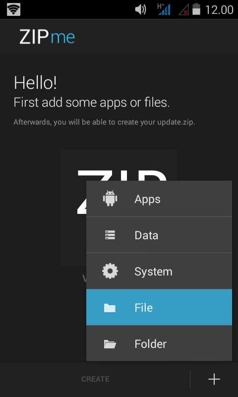Cara Paling Mudah Membuat Flashable Zip Menggunakan ZipMe