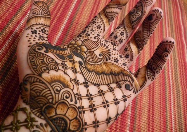 Mehndi Bridal Design Latest : Bridal mehndi designs especially for girls style