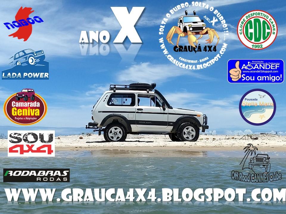 """GRAUÇÁ 4x4 Offroad - Lada Niva"