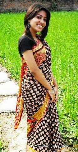 Beautiful+Bangladeshi+Village+Girl+Wearing+Sharee005