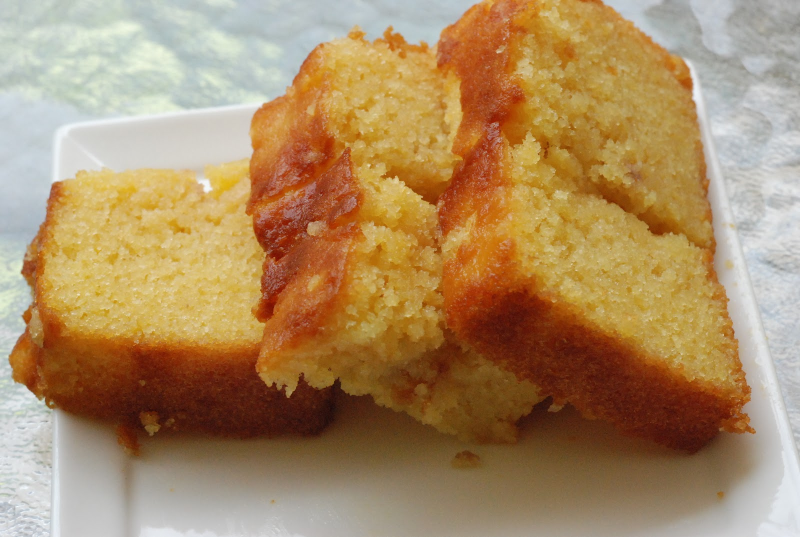Sugee Butter Cake Recipe