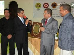 La Cámara de Comercio Y Producción De La Provincia Sánchez Ramírez, realiza Entrega  Reconocimiento