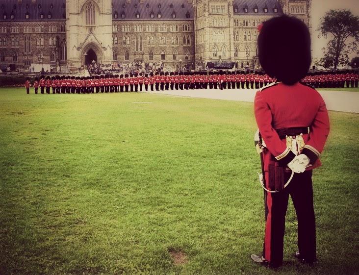Cambio de guardia Ottawa
