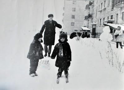 Прогулка на лыжах