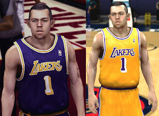 NBA 2K13 Jordan Farmar Cyberface Patch