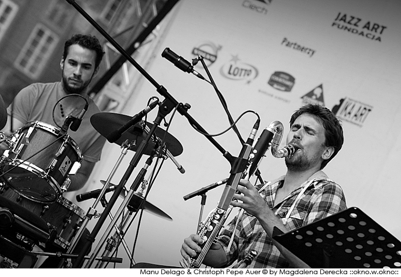 Manu Delago & The Wokheads :: Manu Delago :: Christoph Pepe Auer :: 17th International Jazz at The Old Town Square Festival :: 2011
