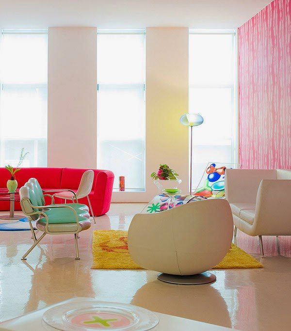Decoración de Loft en New York por Karim Rashid 7