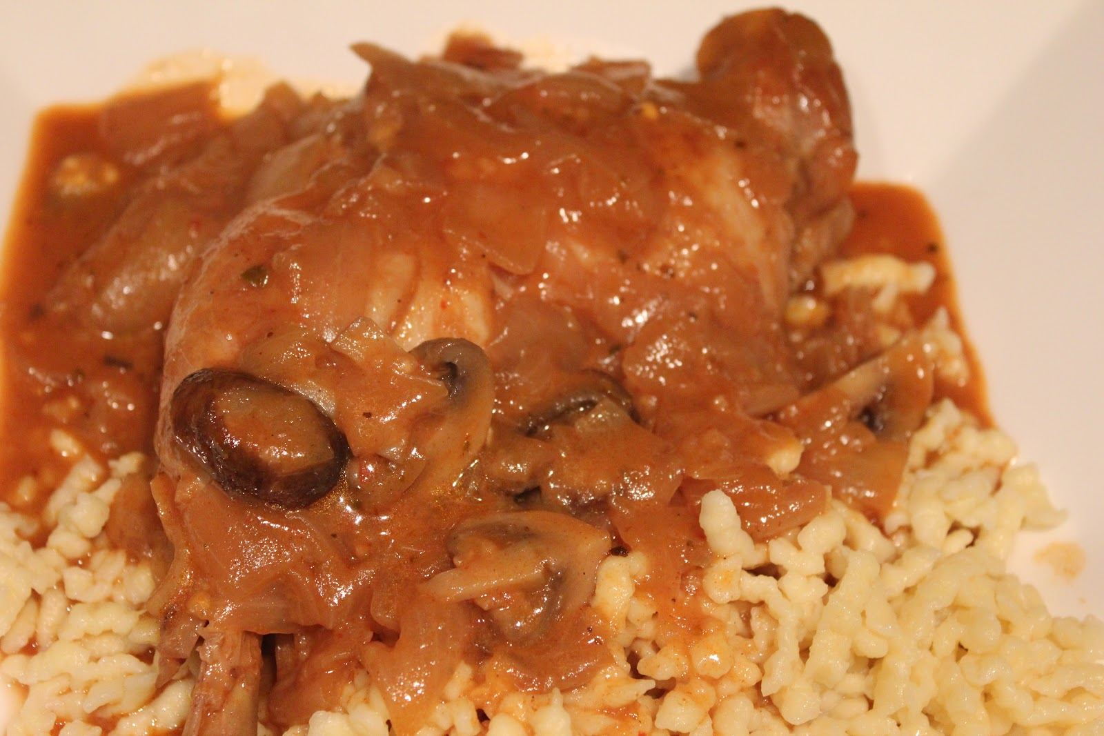 In and Around Town: Chicken Paprikash, Take Two