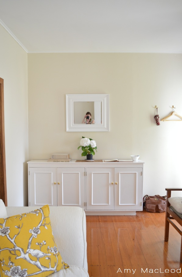 White buffet: interior by Amy MacLeod