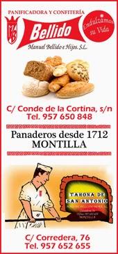 PANADERÍA MANUEL BELLIDO E HIJOS MONTILLA