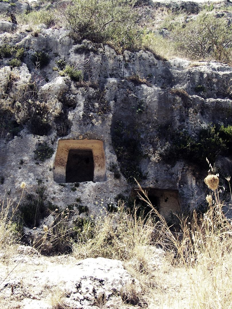 The Necropolis of Pantalica contains over 5000 tombs dug in the rock
