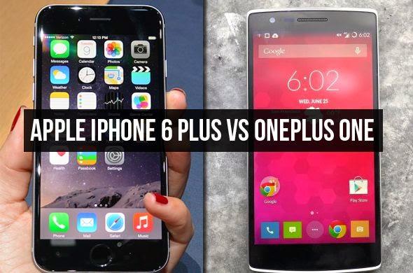 Apple iPhone 6 Plus Vs OnePlus One